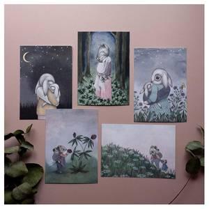 Bilde av Kajsa Wallin postkort - velg motiv