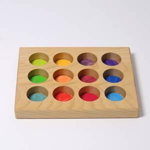 Bilde av Grimm's sorteringsbrett regnbuefarger