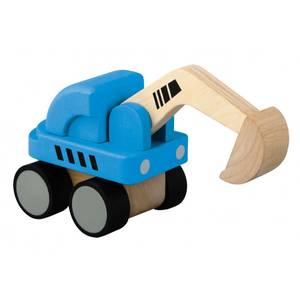 Bilde av Plan Toys minigravemaskin