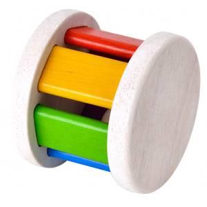 Bilde av Plan Toys fargerik rullerangle