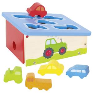 Bilde av Goki puttekasse med kjøretøy