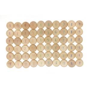Bilde av Grapat mynter med tall