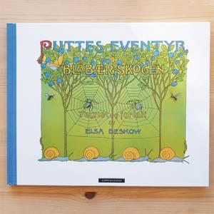 Bilde av Puttes eventyr i blåbærskogen - Elsa Beskow
