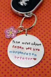Bilde av Ikke mist håpet- nøkkelring