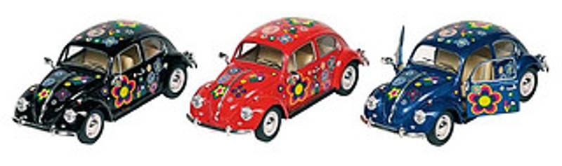 VW Boble 1967, Peace & Love, 17 cm