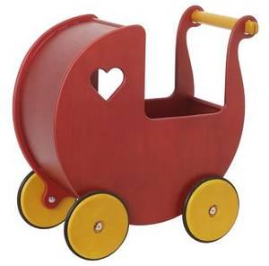 Bilde av Dukkevogn Moover rød