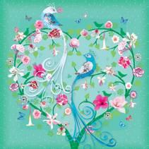 Claire Maddicott kort, 10x10 cm