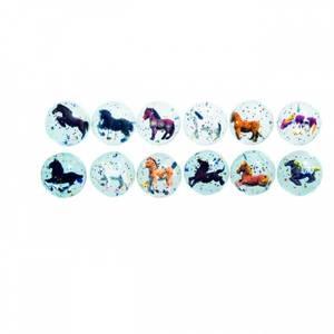 Bilde av Sprettball med hester 3D