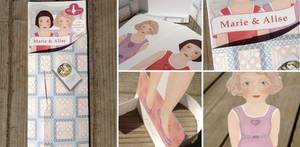 Bilde av Papirdukke ekstra dukker 2