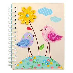 Bilde av Notatbok Blomster