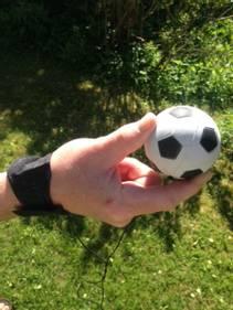 Ball i strikk