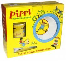 Pippi barneservise i melamin