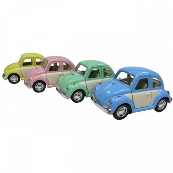 VW boble med farget dør