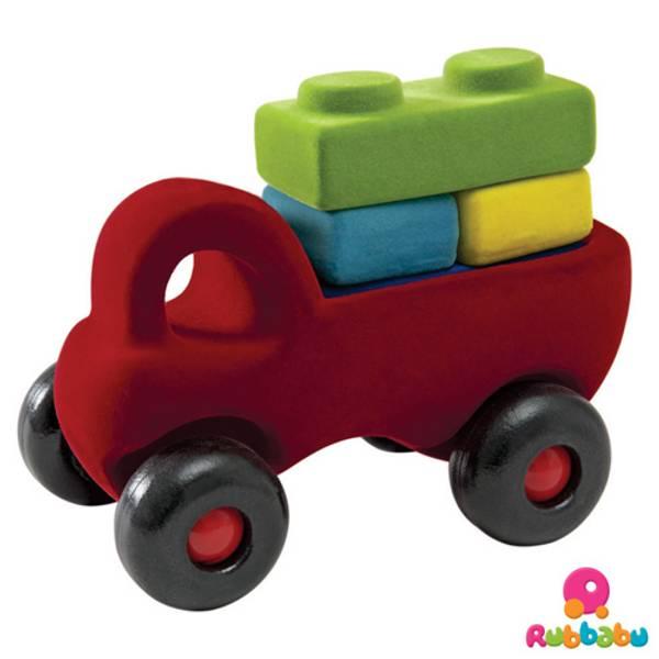 Rubbabu lastebil med klosser