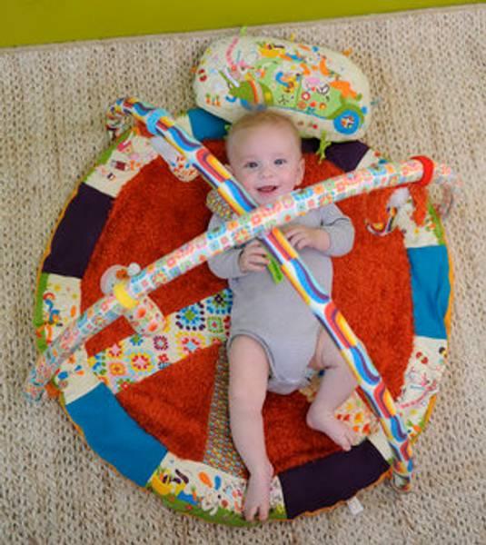Peace&love babygym og aktivitetsteppe