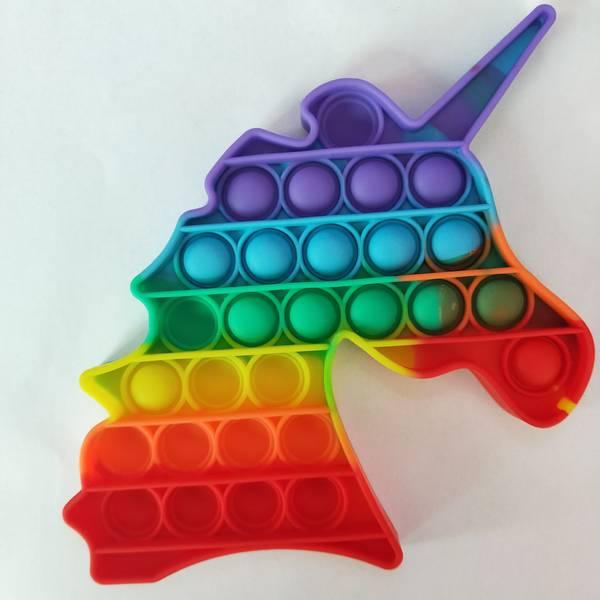 Push Pop Bubble Rainbow Fidget