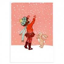 """Belle & Boo vinterkort """"Det snør"""""""
