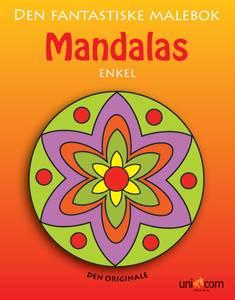 Bilde av Mandala malebok enkel