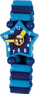 Blå klokke