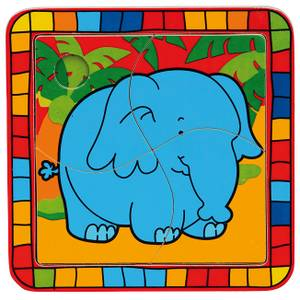 Bilde av Puslespill: Elefant