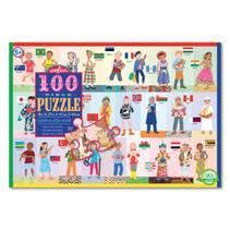 Puslespill 100 deler Verdens barn