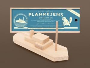 Bilde av Plankebåt