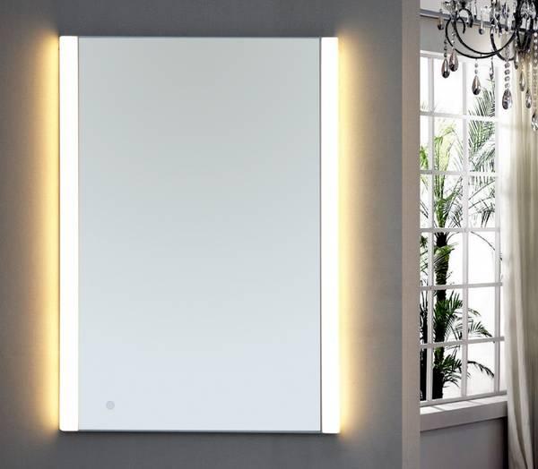 Bilde av Eurodesign baderomsspeil med LED-belysning 50cm
