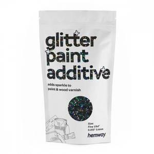 Bilde av Black holographic glitter