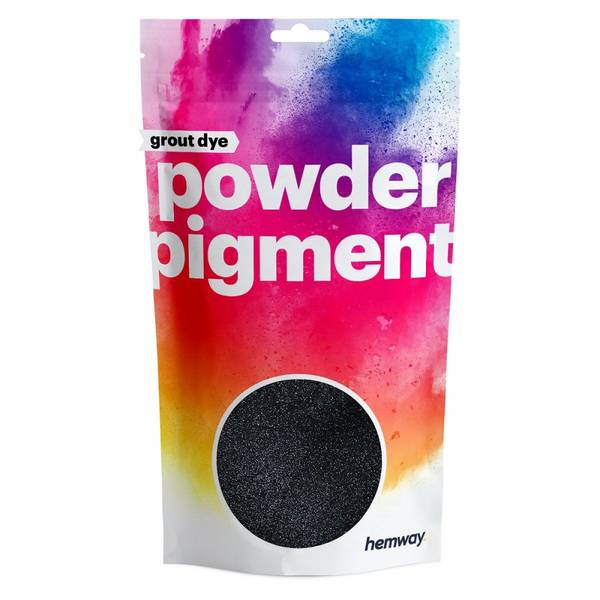 Charcoal Black pigment fugemasse