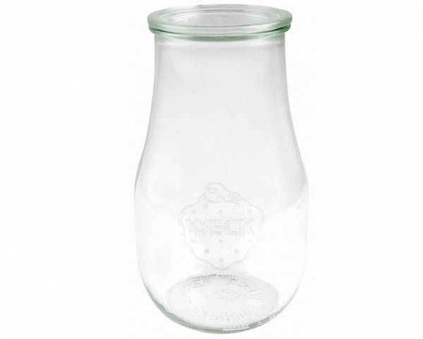 WECK® Tulipan, 2700 ml, 4-pakning