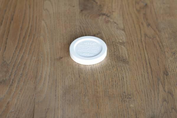 WECK® plastlokk (RR40) til glass med 4 cm åpning (5-pakning)