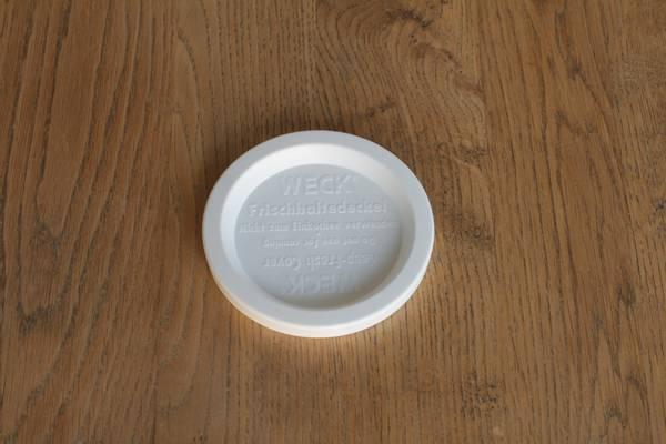 WECK® plastlokk (RR80) til glass med 8 cm åpning (5-pakning)