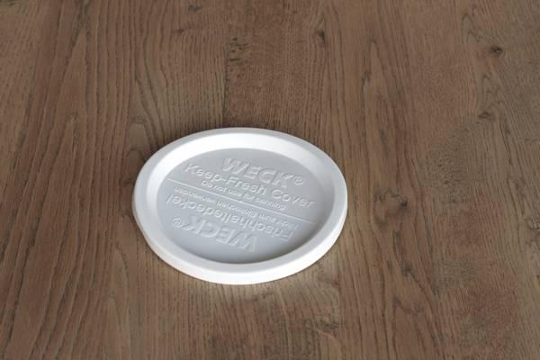 WECK® plastlokk (RR100) til glass med 10 cm åpning (5-pakning)
