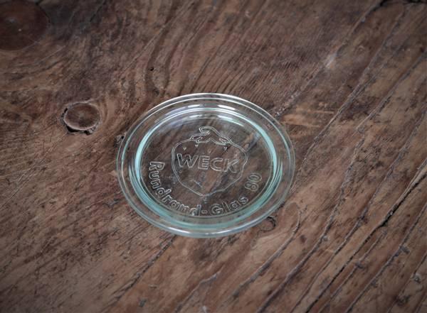 WECK® glasslokk (RR80) til glass med 8 cm åpning
