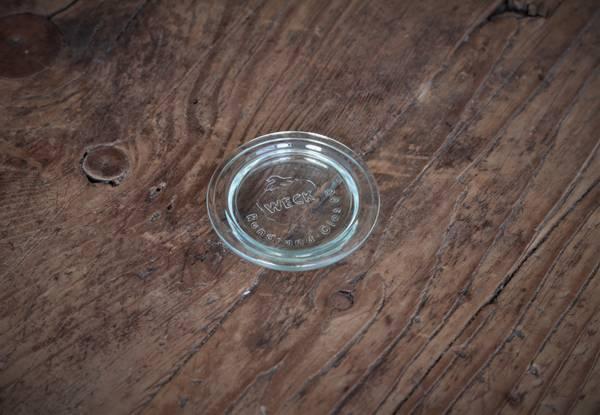 WECK® glasslokk (RR60) til glass med 6 cm åpning