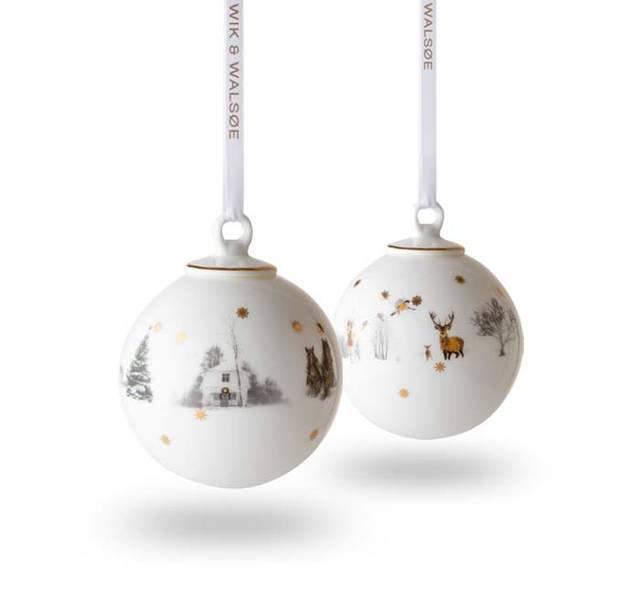 Julekule, stor - Julemorgen