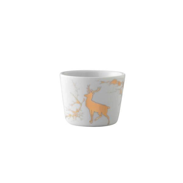 Lyslykt/bolle 9 cm - Alveskog gull