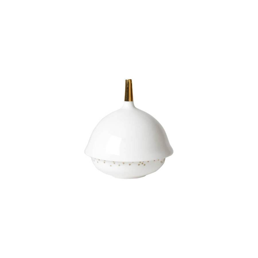 Mini bolle 6 cm - Lys