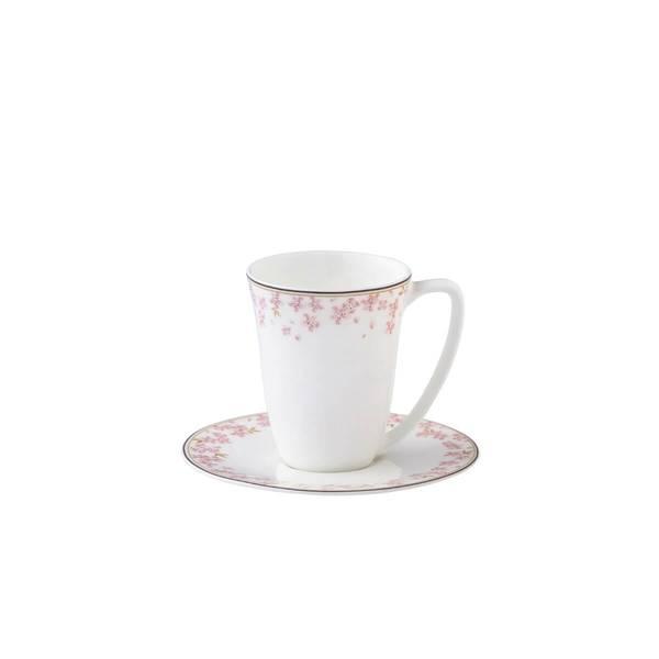 Kopp med skål 20 cl - Slåpe Rosa