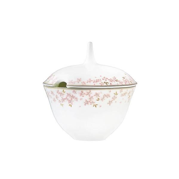 Sauseterrin med skål 14 cm - Slåpe Rosa