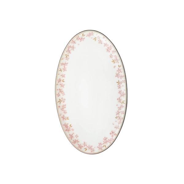 Oval asjett 20 cm - Slåpe Rosa