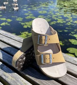 Bilde av Klassisk Grete Waitz sandal i lys brun