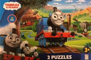 Bilde av Thomas & Friends 2 Puslespill (24 Brikker & 12
