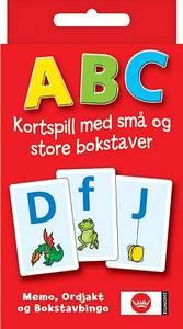 Bilde av Egmont Kortspill ABC - Norsk Utgave