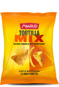 Bilde av Maarud Tortilla Mix Nacho Cheese & Hot Sweet