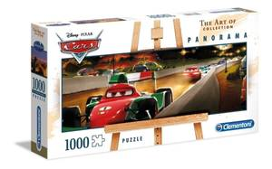 Bilde av Clementoni Cars Panorama Puslespill (1000