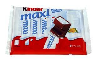 Bilde av Kindersjokolade Maxi 6PK 126g
