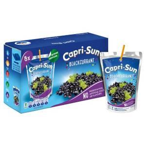 Bilde av Capri-Sun Blackcurrant Juice Drink 8x200ml