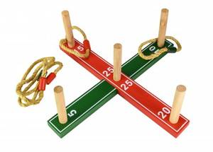 Bilde av Ringspill I Tre Med 5 Ringer Tactic Active Play
