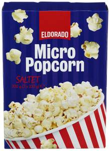 Bilde av Eldorado Micropopcorn Saltet 3x100g